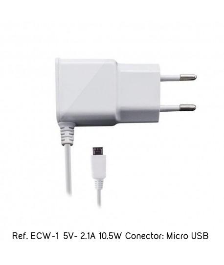Cargador Smartphone Tablet Micro USB 5V 2.1A