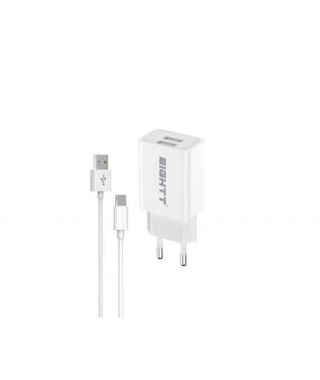 Cargador Smartphone Tablet Lightning 5V 2.4A