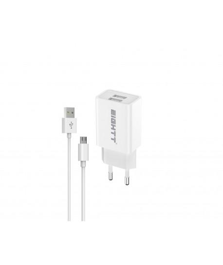 Cargador Smartphone Tablet Micro USB 5V 2.4A