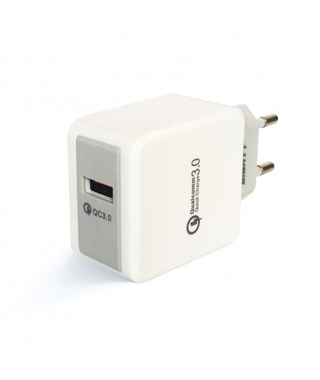 Cargador USB Qualcomm 3.0 de 1 puerto 12W