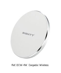 Cargador Inalámbrico para Smartphone blanco